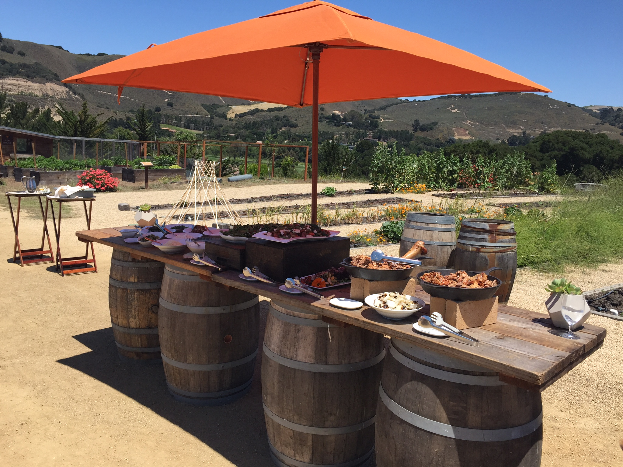 Carmel Valley Ranch Resort – In the Garden